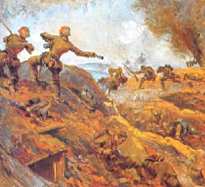 Trenches On The Web Special Reorganization Of The